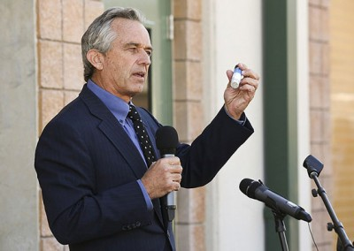 Robert F. Kennedy Jr. helps Gwinnett leaders open nutrient recovery facility
