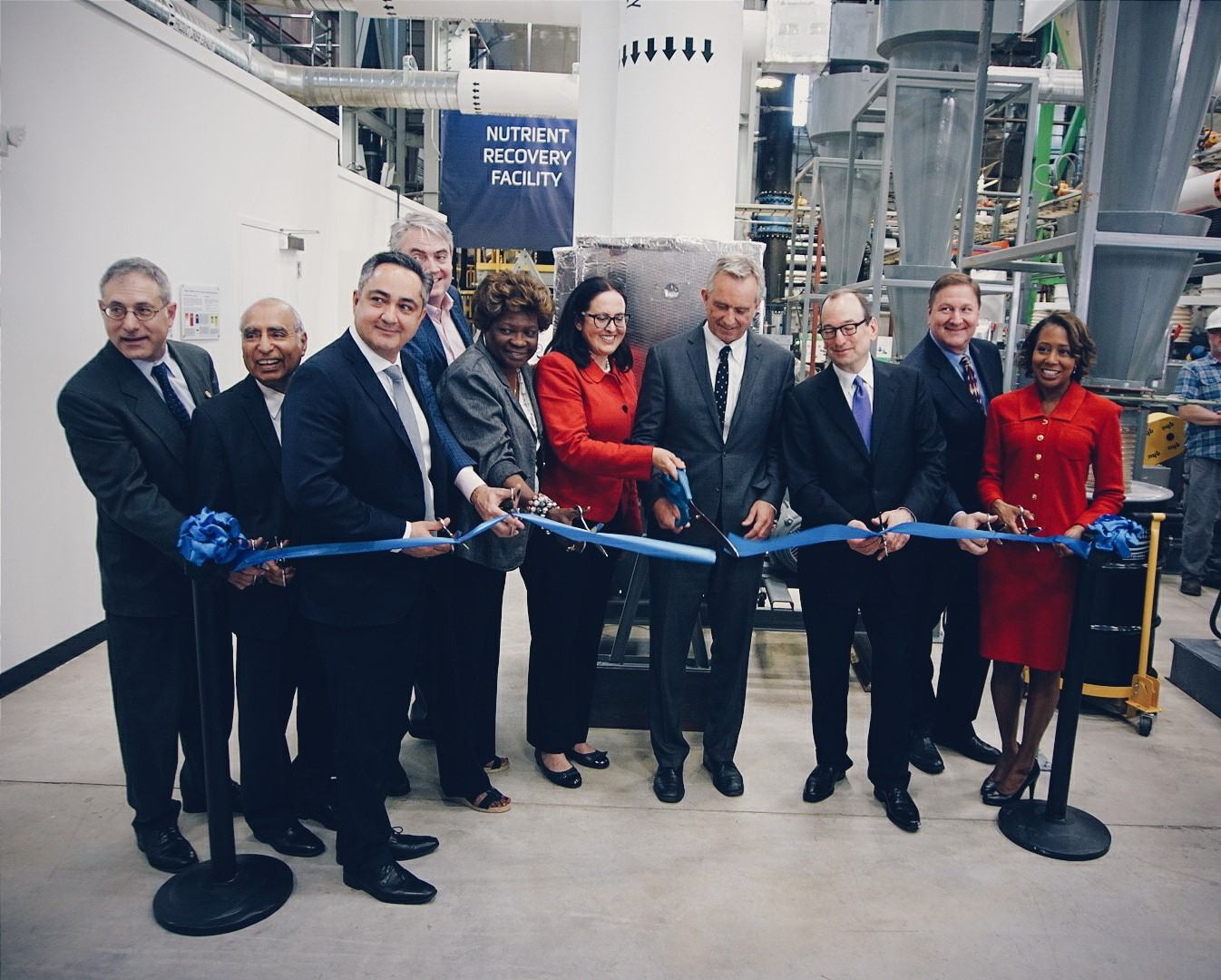 Metropolitan Water Reclamation District of Greater Chicago and Ostara Open World's Largest Nutrient Recovery Facility