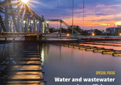 ESEM | Wastewater converted to ecofriendly fertilizer with the help of dewatering, classifying screeners